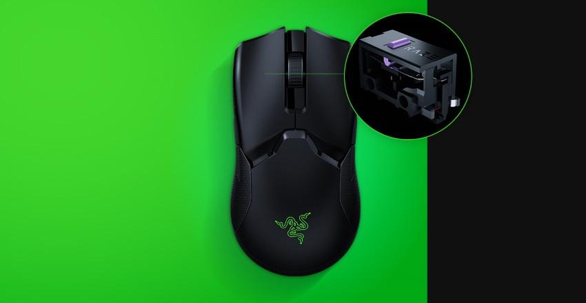 Razer Viper Ultimate с оптическими переключателями Razer
